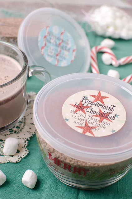 Peppermint Hot Chocolate Mix 2