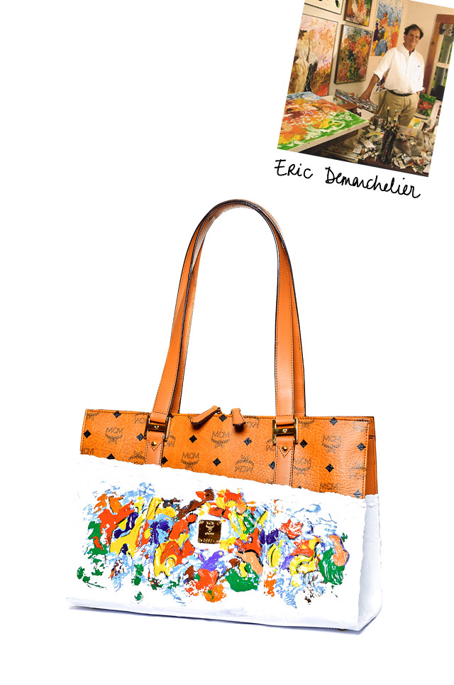 Eric-Demarchelier---Painted-tote---asymmetrical-white-background