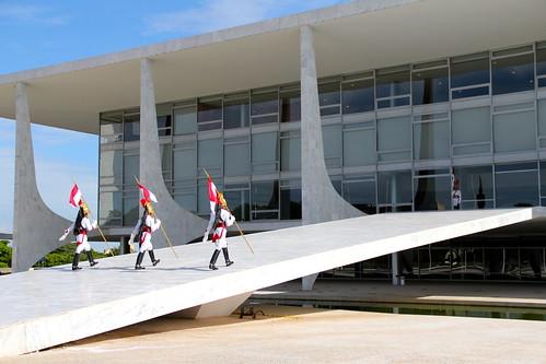Troca da guarda em Brasília