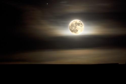 Bright Moon by erikeichstadt
