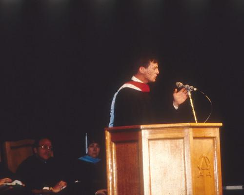 Scharfe, Ron  Baccalaureate speaker