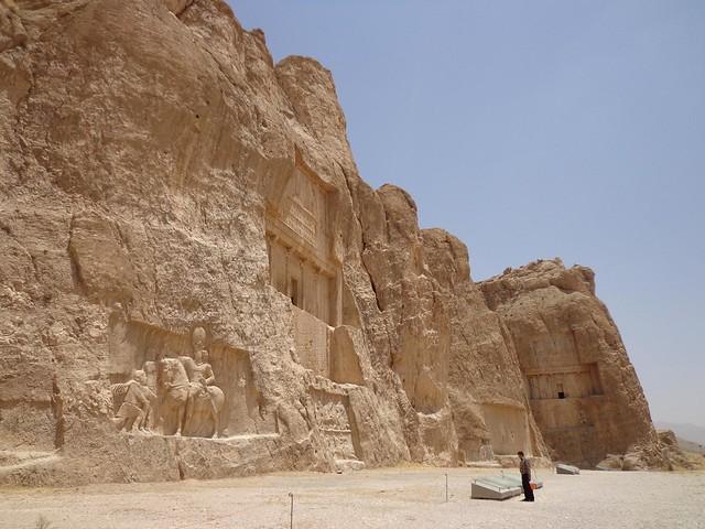 Naqsh-e Khostam no Irão