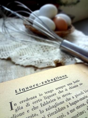 Liquore allo Zabaione di Petronilla
