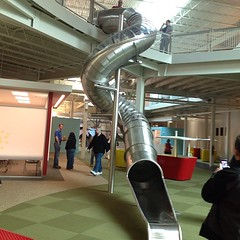 They have a slide here