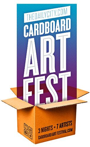 Cardboard Art Festival