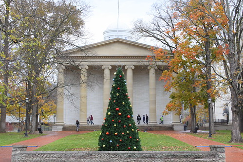 Old Kentucky State Capitol at Christmas