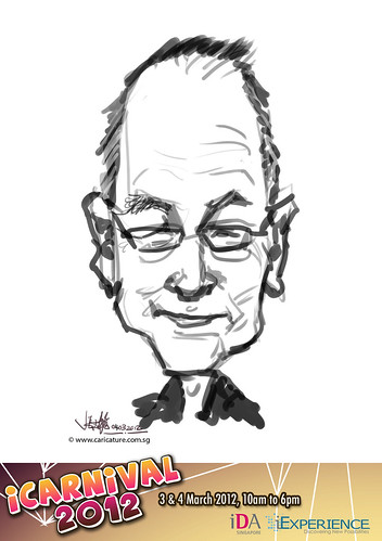 digital live caricature for iCarnival 2012  (IDA) - Day 2 - 7