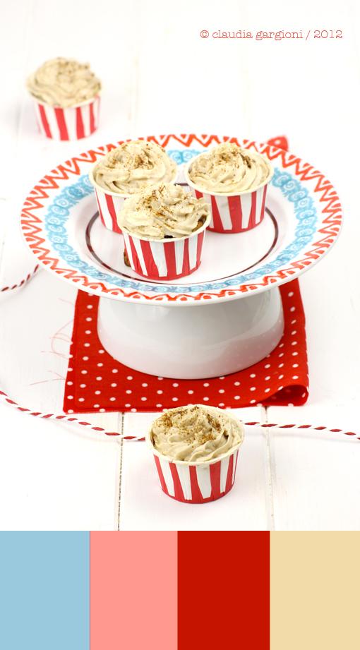 Mini cupcake al caffè e mascarpone