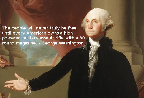 George Washingon on Assault Rifles