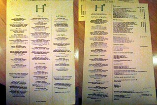 Heirloom Menu