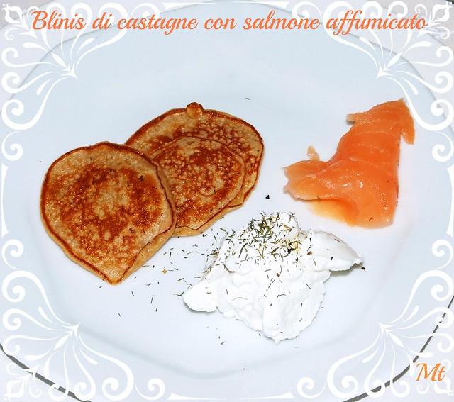 blinis salmone