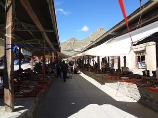 Mercado de Shigatse Tibete