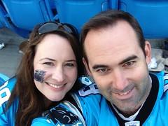 2012 Carolina Panthers vs Seattle Seahawks - Vanessa & Jason