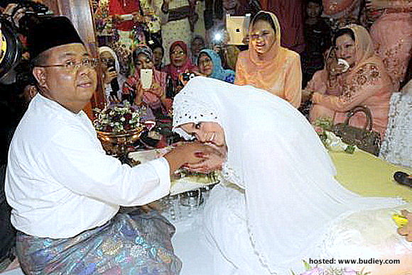 Majlis Nikah Anne Ngasri Sumali