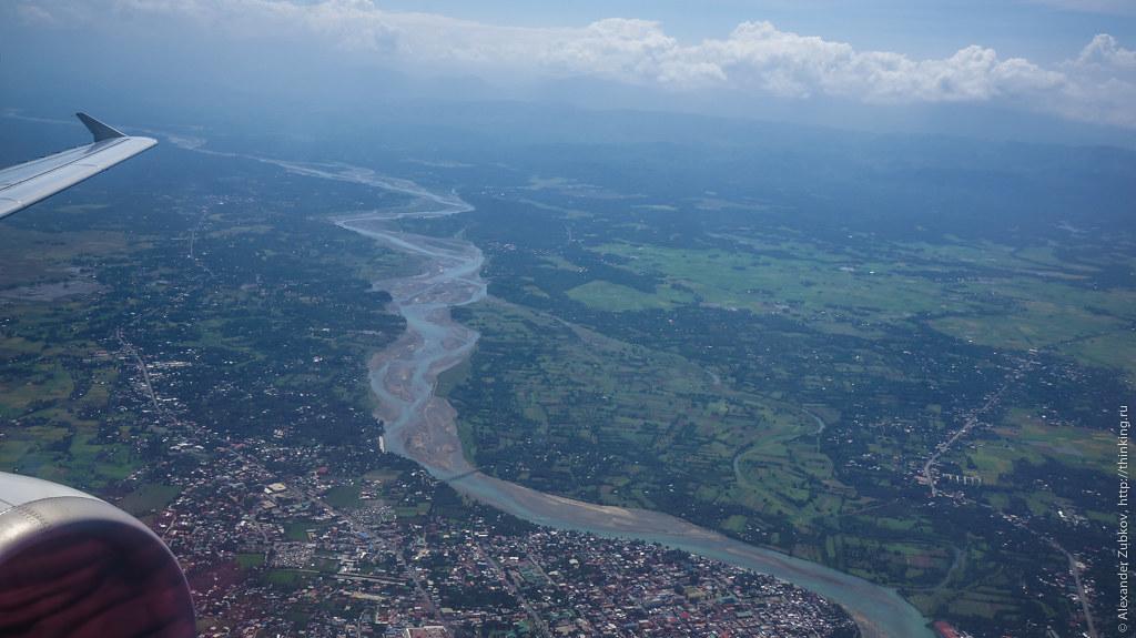 Река на Филиппинах