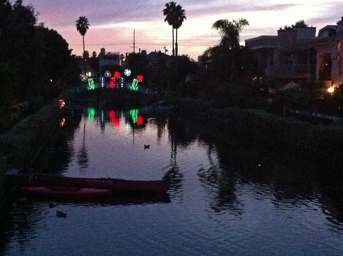 Life: Venice Canals, Christmas 2012 by Sanctuary-Studio