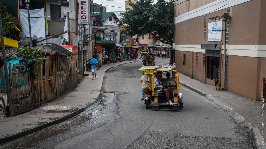 Улицы острова Боракай