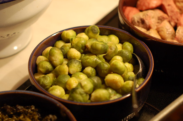Swedish Christmas Brussel sprouts