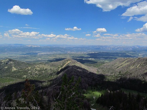 The Absaroka Range from Mount Leidy, Bridger-Teton National Forest, Wyoming