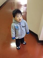 散歩に出発です 2012/12/24