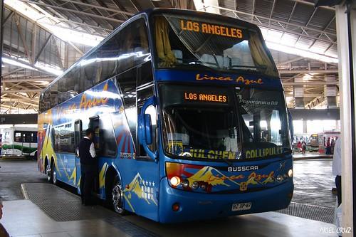 Línea Azul | Terminal San Borja | Busscar Panorâmico DD / BZXP97
