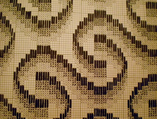 Bargello Stitch Pattern