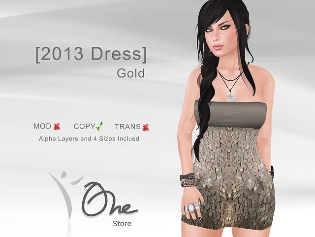 [2013 Dress] Gold