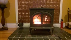 floor, wood, wood-burning stove, fireplace, living room, flooring, hearth,