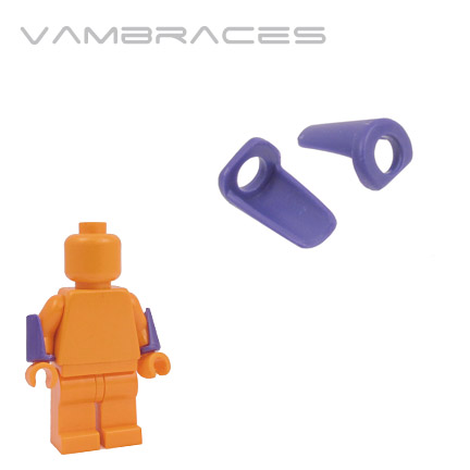 Vambraces - Dark Purple