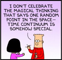 Dilbert: Magical thinking