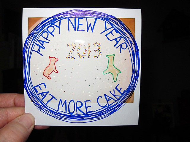 Happy New Year = Eat More Cake
