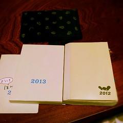 一年の計は元旦にあり、というわけで今年もほぼ日手帳。