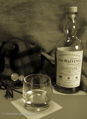 Dram of Balvenie, Whisky from Scotland