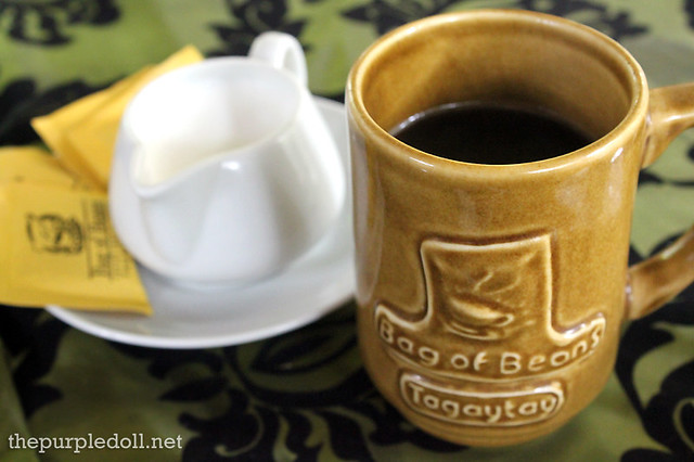 Freshly Brewed Coffee P105