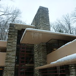 Fallingwater, in winter, angles and details