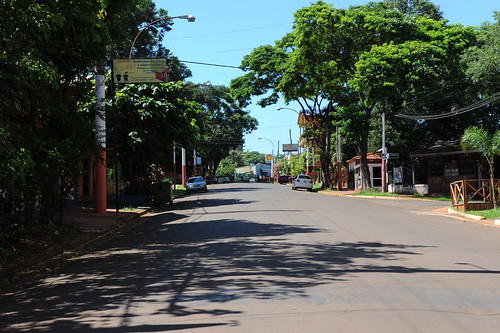 Puerto Iguazu, city center