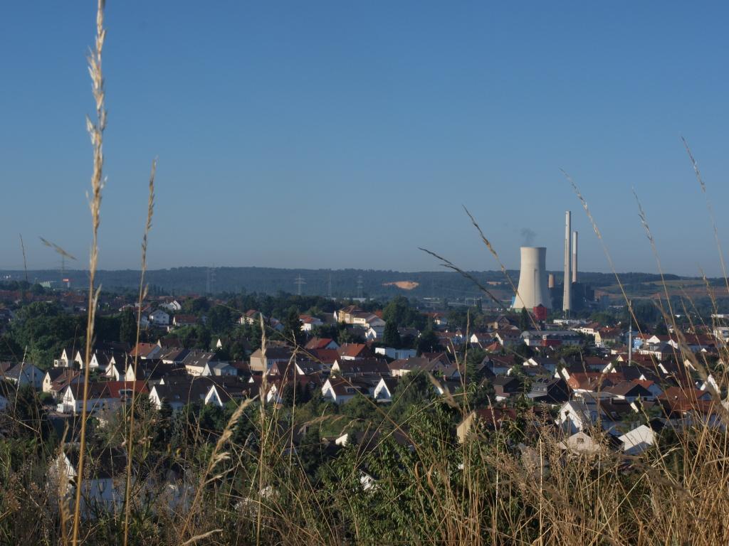 Blick von der Ensdorfer Bergehalde