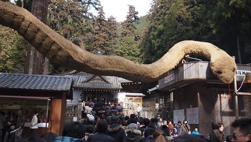安志加茂神社の初詣2013 その2