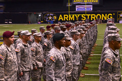 Soldier Heroes In the Alamodome