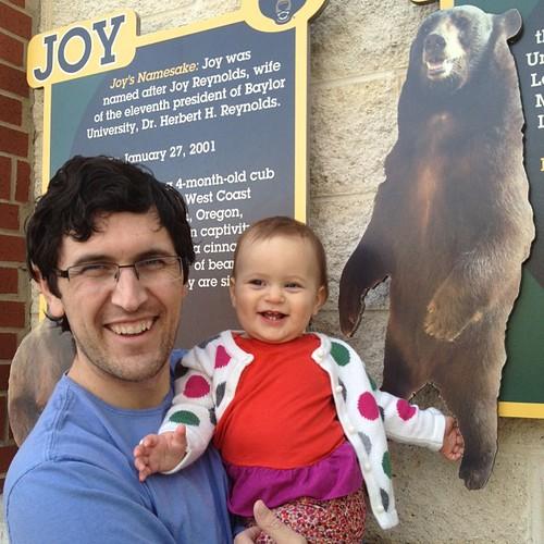 Visiting Lady & Joy at the Bear Pit!
