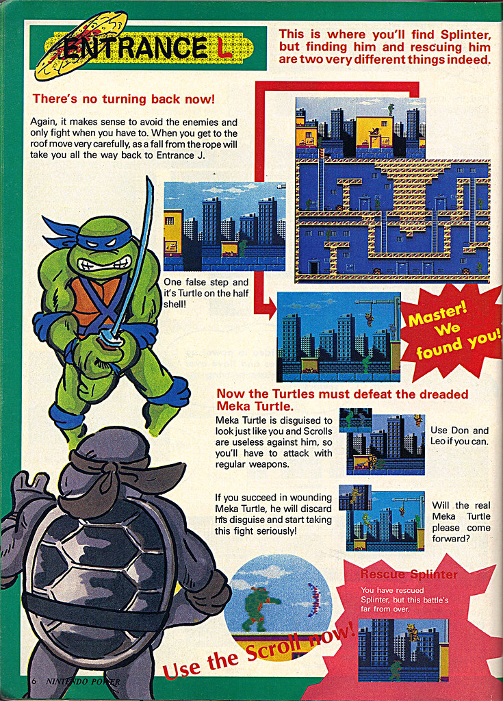 "NINTENDO POWER ::  MAY/JUNE 1989 // Vx p.16 "" TEENAGE MUTANT NINJA TURTLES "" { original review } by tOkKa"