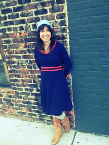Blue 60s Dress