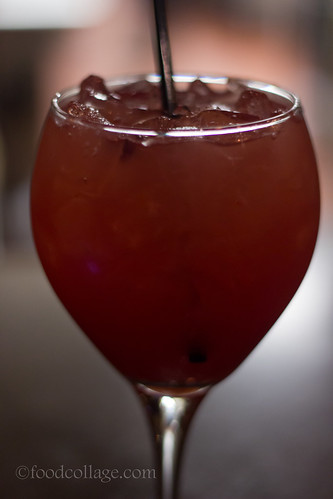 Apple Berry Sangria at Burgh'ers