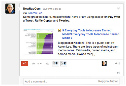 NewRayCom Google from Do Share
