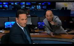 Howie Mandel #videobomb Fox LA LIVE Newscast