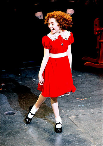 Lilla Crawford Opening night of the Broadway musical 'Annie' at the Palace Theatre – Curtain Call. New York City, USA – 08.11.12