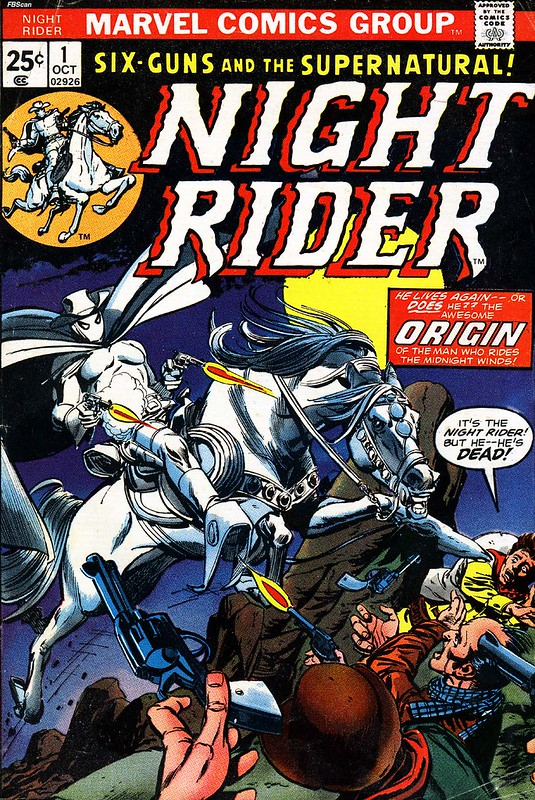 Night Rider 1 1974 cover by Gil Kane and Tom Palmer