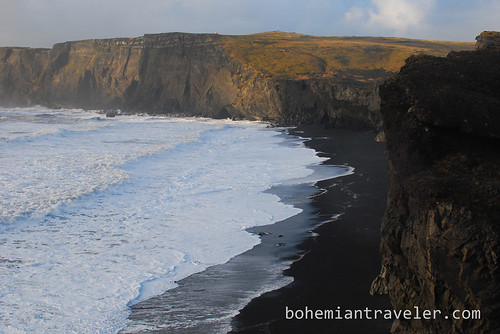 Cape Dyrholaey and Seaside cliffs Iceland (2)