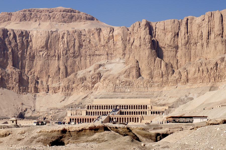 01.Храм Хатшепсут вДейр-эль-Бахри