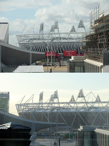 Olympic Park then and now by st_hart